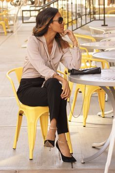 business casual, work outfit find more women fashion ideas on www.misspool.com Casual Fashion, Casual Work Outfits, Business Casual Woman, Fashion Ideas, Business Outfits Ideas, Business Casual Work, Chic Style, Offices Outfits, Casual Woman Work Outfit