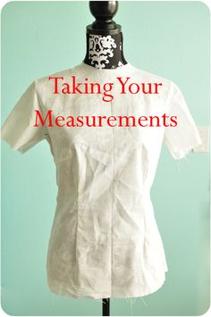 Simple Simon & Company: Sewing: Taking Your Measurements