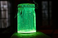 Fairies In a Jar - Glow Stick, Jar & Glitter!