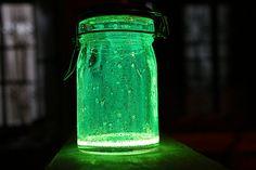 Fairies In a Jar - Glow Stick, Jar & Glitter!