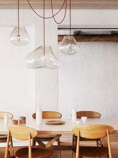 Pendant Lights / via Style Files