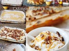 Caramel Apple Dump Cake Recipe | Just A Pinch Recipes