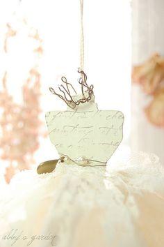 the princess' dress..