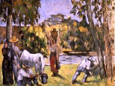 Life in the Fields Paul Cezanne - 1876-1877 field, paul cezanne, art canva, cezann larg, paul cézann, fine art, canva franc, larg fine, franc 17x24inch