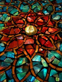 Stained Glass Artwork Print.  Not sure if I should put this under artwork or Stained Glass.  Beautiful either way!