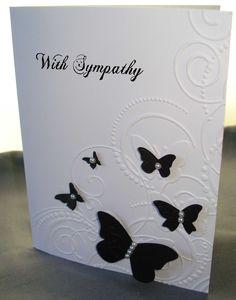 Sympathy Card  Cards, Card Making