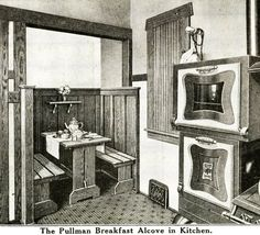Interior View of Sears Ashmore Kitchen Nook