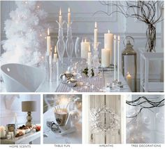 winter wonderland theme, but maybe more rustic?