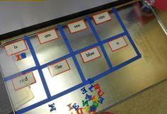 Cute literacy center ideas!
