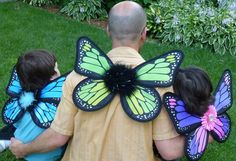 Dads in Fairyland! #fairyfinery #thefairynextdoor #fairyprincess #fairywings #fairydust #discovermagic #motherownedbusiness #wonder #dressup #madein Minnesota #monarchbutterfly #monarchwings