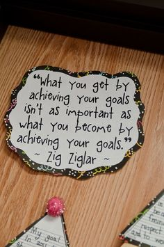 Resolutiona and achieving your goals