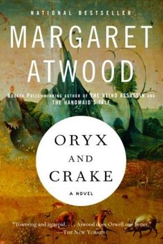 Oryx And Crake BY Margaret Atwood #book #covers #graphic #design