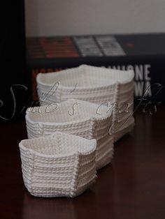 crochet nesting boxes pattern