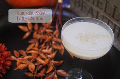 Pumpkin Spice Latte Martini- Ingredients: 1 part Pinnacle Pumpkin Pie Vodka 1 part Espresso Vodka 1 part Coffee Liquor 1/2 part Fulton's Harvest Pumpkin Creme Liquor Dash of Pumpkin Pie Spice  Directions: Combine the first four ingredients into a cocktail shaker over ice.  Shake and strain into a martini glass.  Garnish with a dash of pumpkin pie spice.