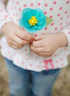 Crepe Paper Flowers Tutorial - #paper #flower #tissue #wedding #decorations #bouquet