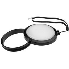white balance lens cap
