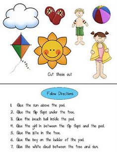 Good site for Listening/Following Direction idea, following directions, school, slp, speech therapi, ears, languag, lend, teach