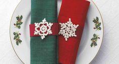 Charted patterns for crochet snowflakes ❥Teresa Restegui http://www.pinterest.com/teretegui/❥