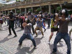 Shakespeare flashmob. Cultural Olympiad finale.