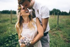 DIY Michigan Barn Wedding: Emily + Tyler...... Absolutely LOVE everything about this and them