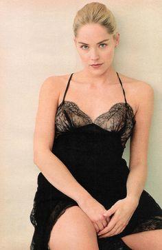 Sharon Stone by Annie Leibovitz, 1993