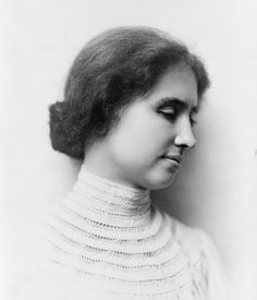 """""""For three things I thank God every day of my life: thanks that he has vouchsafed me knowledge of his works; deep thanks that he has set in my darkness the lamp of faith; deep, deepest thanks that I have another life to look forward to--a life joyous with light and flowers and heavenly song.""""  ― Helen Keller"""