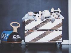 Custom Made Toy Box for Nursery - #toybox #projectnursery