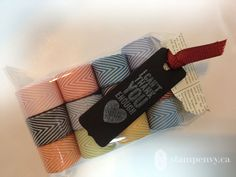 www.stampenvy.ca Chevron Ribbon Share