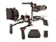 SHAPE KIRK Neff 2.0 DSLR Video Shoulder Rig Cage EVF MatteBox Follow Focus bundle