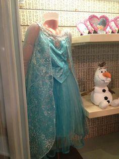 Frozen Elsa costume dress - Epcot Merchandise Update