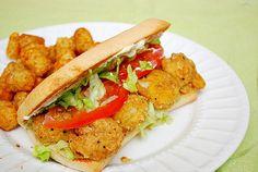 Shrimp Po Boy Sandwiches