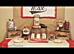 """Photo 2 of 28: Vintage Baseball / Birthday """"Max's Vintage Baseball Party"""" 