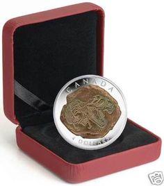 2009 SILVER $ 4 dinosaur coin TYRANNOSAURUS REX w COA