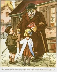 """Nazi propaganda: Der Giftpilz is a children's book published by Julius Streicher in 1938. The title is German for """"the toadstool"""" or """"the poisonous mushroom""""."""