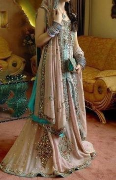 This is the image gallery of Pakistani Bridal Walima Dresses Collection 2014. You are currently viewing Pakistani Bridal Walima Dresses Collection 2014 (13). All other images from this gallery are given below. Give your comments in comments section about this. Also share stylehoster.com with your friends.   #walimadresses, #bridalwalimadresses, #bridaldresses, #pakistaniwedding