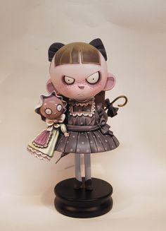 Margareth Resin Toy by ramon PLA, via Flickr