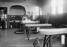 1890 Bellevue Hospital Mortuary, New York City. My Mom worked here in the 1940's.