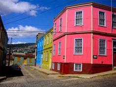 Fresh colors! goo.gl/33uo5 fresh color, colour exterior, hous color, bright paint, happi colour, color hous, bright color, pink hous, exterior paint colors