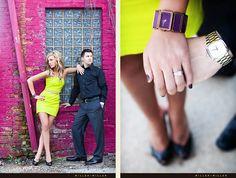 Artistic Engagement Photos