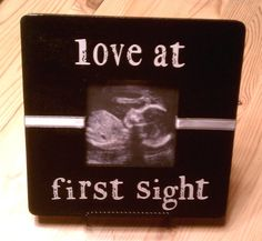 cute frame for ultrasound picture
