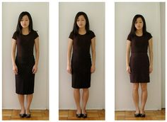 Know where your best skirt heights (above, below or at the knee cap) is. there is a formula to measure. Extra Petite | Petite Fashion, Style Tips and DIY