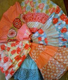 Girls Skirt Pattern, Gypsy, Skirt Sewing Tutorial, Twirl Skirt, Beginner Pattern, PDF File, E-Pattern. $10.50, via Etsy.