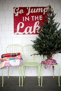 holiday, decor, lake houses, eclect christma, eclectic christmas, christma hous, christma 2014, back porches, christmas houses