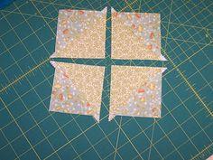 Quick half-square triangles