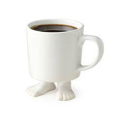 Mug with feet (UncommonGoods)