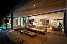 Plett 6541+2 Residence by SAOTA | HomeDSGN, a daily source for inspiration and fresh ideas on interior design and home decoration.