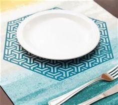 Impress your guests with this fun placemat!