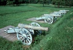 Yorktown National Battlefield, Virginia