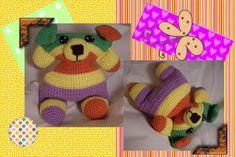 Funmigurumi Cuddlers: Wallace the Dog #freecrochetamigurumidogpattern
