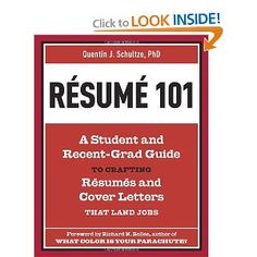 For two decades, communication professor Quentin Schultze has been teaching résumé-writing to college students and recent graduates, helping them identify their strengths and transferable skills from their unique life experiences--from extracurriculars to part-time jobs to internships to volunteering. With Résumé 101, you'll discover the secrets to composing strong, impressive resumes and cover letters